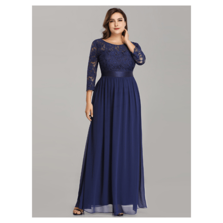 Plus Size Annette Evening Dress