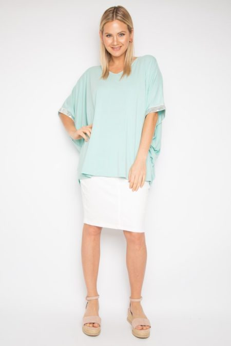 Sequinned Miracle Top (BAMBOO)