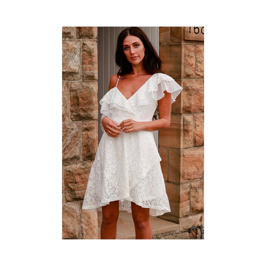 Lina Lace Mini Dress