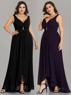 Plus Size Ruched Isabelle Evening Dress